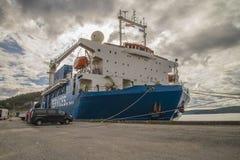 Έμπορος των MV eide Στοκ Φωτογραφίες