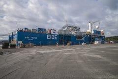 Έμπορος των MV eide Στοκ φωτογραφία με δικαίωμα ελεύθερης χρήσης