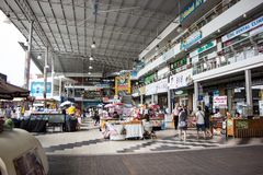 Έμφραξη Plaza Mee Σύγχρονο Plaza στο αστικό περιθώριο της πόλης chiangmai Στοκ Φωτογραφία
