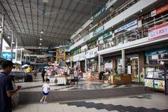 Έμφραξη Plaza Mee Σύγχρονο Plaza στο αστικό περιθώριο της πόλης chiangmai Στοκ φωτογραφία με δικαίωμα ελεύθερης χρήσης