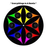 Έναρξη αγάπης ειρήνης χρώματος κόσμου Mandala Στοκ φωτογραφίες με δικαίωμα ελεύθερης χρήσης
