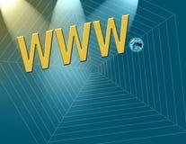 έναρξη Διαδίκτυο διανυσματική απεικόνιση