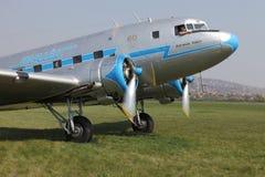 Έναρξη μηχανών αεροπλάνων Στοκ Φωτογραφία