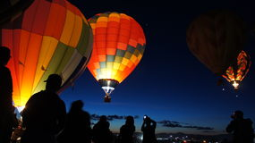 Έναρξη μπαλονιών Στοκ φωτογραφίες με δικαίωμα ελεύθερης χρήσης