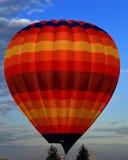 Έναρξη πρωινού των πολλαπλάσιων μπαλονιών ζεστού αέρα Στοκ Εικόνες