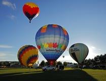 Έναρξη Σάσσεξ μπαλονιών ζεστού αέρα Στοκ εικόνα με δικαίωμα ελεύθερης χρήσης