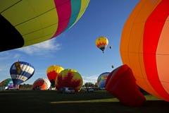 Έναρξη του Σάσσεξ μπαλονιών ζεστού αέρα Στοκ Φωτογραφίες