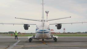 Έναρξη των turboprop μηχανών αεροσκαφών φιλμ μικρού μήκους