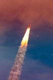 Έναρξη atlantis-STS-135 Στοκ Φωτογραφία