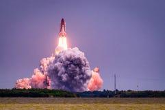 Έναρξη atlantis-STS-135 Στοκ Εικόνες
