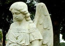 Ένας άγγελος προσέχει Στοκ Εικόνες