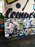 Ένας άλλος τοίχος, ένας άλλος καμβάς Στοκ φωτογραφία με δικαίωμα ελεύθερης χρήσης