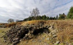 Ένας άλλος πυροβολισμός των πετρών συσσώρευσε επάνω όπως τη σπηλιά στοκ εικόνες με δικαίωμα ελεύθερης χρήσης