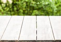 Ένας αγροτικός ξύλινος πάγκος Στοκ Φωτογραφία