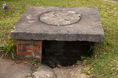 Ένας αγωγός νερού στοκ φωτογραφίες