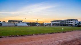 Ένας αγωνιστικός χώρος ποδοσφαίρου Davao αντίο Στοκ εικόνες με δικαίωμα ελεύθερης χρήσης