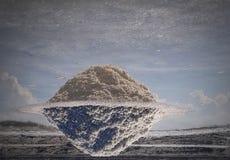 Ένας αλατισμένος πλανήτης Στοκ φωτογραφία με δικαίωμα ελεύθερης χρήσης