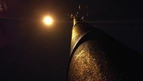 Ένας λαμπτήρας ή ένα φεγγάρι Στοκ Φωτογραφία