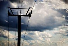 Ένας ανελκυστήρας Στοκ Εικόνες