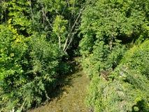 Ένας απλός ποταμός στοκ εικόνα