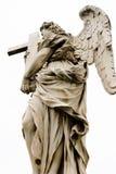Ένας από τους αγγέλους Bernini στο ponte Sant'Angelo Στοκ φωτογραφία με δικαίωμα ελεύθερης χρήσης
