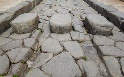 Ένας αρχαίος δρόμος στοκ εικόνες