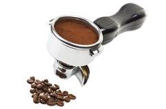 Ένας αρχηγός ομάδας μηχανών espresso Στοκ Εικόνα