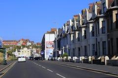 Ένας 259 αυτοκινητόδρομος Hastings Ηνωμένο Βασίλειο στοκ φωτογραφία