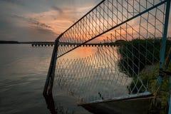 Ένας βυθισμένος φράκτης Στοκ φωτογραφία με δικαίωμα ελεύθερης χρήσης