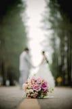 Ένας γάμος ζευγών Στοκ Φωτογραφία