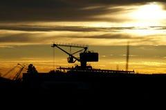 Ένας γερανός Στοκ εικόνα με δικαίωμα ελεύθερης χρήσης