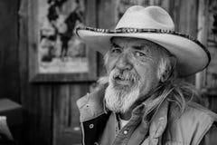 Ένας γνήσιος Αμερικανός από την πόλη Σάντα Φε στοκ εικόνες