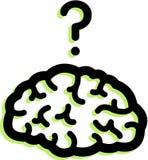 Ένας εγκέφαλος Στοκ Εικόνα