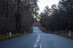 Ένας εγκαταλειμμένος δρόμος στοκ φωτογραφία με δικαίωμα ελεύθερης χρήσης