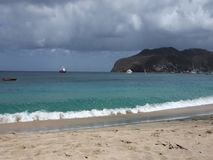 Ένας ειδυλλιακός τόπος προορισμού τουριστών στις Καραϊβικές Θάλασσες φιλμ μικρού μήκους