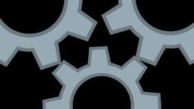Ένας ενιαίος μηχανισμός Η έννοια της ομαδικής εργασίας απεικόνιση αποθεμάτων