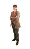 ένας επιστήμονας Στοκ φωτογραφία με δικαίωμα ελεύθερης χρήσης