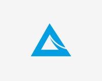 Ένας επιχειρησιακός αθλητισμός αλφάβητου επιστολών Εικονίδιο συμβόλων Logotype Στοκ φωτογραφίες με δικαίωμα ελεύθερης χρήσης