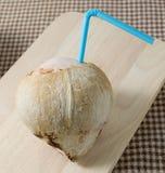 Ένας εύγευστος και γλυκός χυμός νερού καρύδων Στοκ εικόνα με δικαίωμα ελεύθερης χρήσης