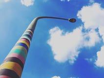 Ένας ζωηρόχρωμος λαμπτήρας οδών Στοκ φωτογραφία με δικαίωμα ελεύθερης χρήσης