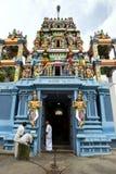 Ένας ινδός ναός σε Negombo, Σρι Λάνκα στοκ εικόνες