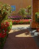 Ένας κήπος φρούτων και λουλουδιών Στοκ εικόνα με δικαίωμα ελεύθερης χρήσης
