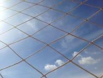 Ένας καθαρός φιαγμένος από σχοινί Στοκ φωτογραφία με δικαίωμα ελεύθερης χρήσης