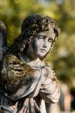 Ένας καθισμένος άγγελος Στοκ εικόνα με δικαίωμα ελεύθερης χρήσης