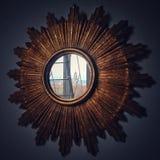 Ένας καθρέφτης στην πόλη Στοκ φωτογραφία με δικαίωμα ελεύθερης χρήσης