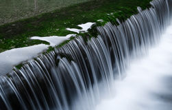 Ένας καταρράκτης ποταμών στοκ εικόνα με δικαίωμα ελεύθερης χρήσης