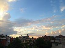 Ένας καλός ουρανός βραδιού Στοκ εικόνα με δικαίωμα ελεύθερης χρήσης