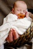 Ένας καλός ύπνος λίγα νεογέννητα Στοκ Εικόνες