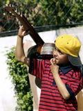 Ένας κιθαρίστας youg στοκ φωτογραφία με δικαίωμα ελεύθερης χρήσης