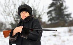 Ένας κυνηγός Στοκ Εικόνες